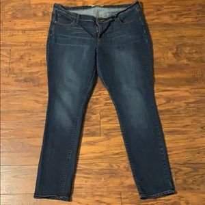Old Navy sweetheart jeans size 16 like new